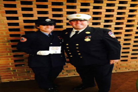 Lt. Wiener honored at 2014 Firematic Awards Ceremony