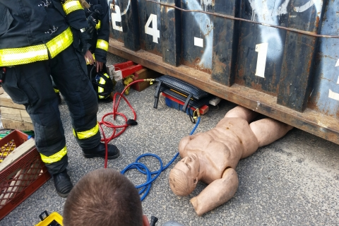 Training and Monitoring New Airbag Equipment