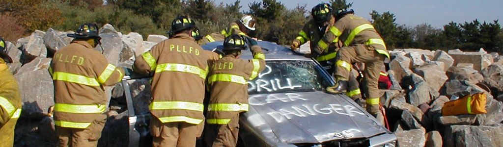 PLLFD auto acident rescue training